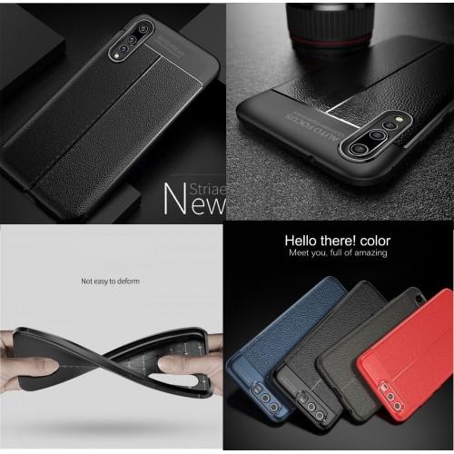 Cover custodia case antiurto gomma fibra parabordi per Huawei P20 lite Pro plus