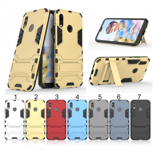 Cover custodia case antiurto hybrid con cavalletto per Huawei P20 lite Pro plus