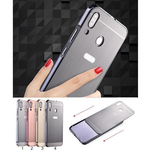 Cover custodia case in alluminio acrilico per Asus Zenfone 5 5Z ZS620KL ZE620KL