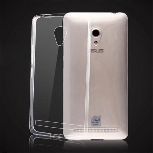 Cover custodia case in silicone antiscivolo 0.4 per Asus Zenfone 5 lite A502CG
