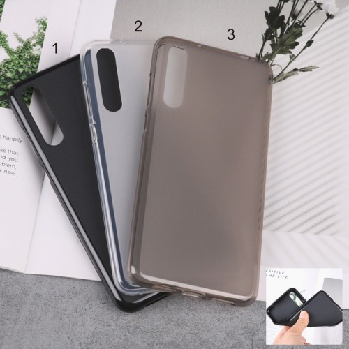 Cover custodia case in silicone antiurto parabordi per Huawei P20 lite Pro plus