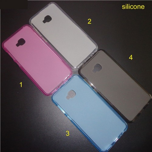 Cover custodia case silicone con parabordi per Asus Zenfone 4 selfie PRO ZD552KL