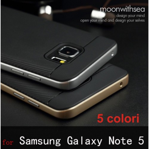 Cover custodia case silicone hybrid gel fashion per samsung galaxy Note 5