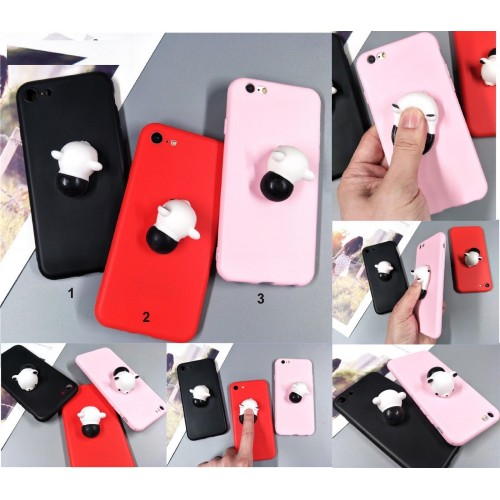 Cover custodia case squishy panda per huawei P8 P9 P10 P20 lite Pro Plus 2017.