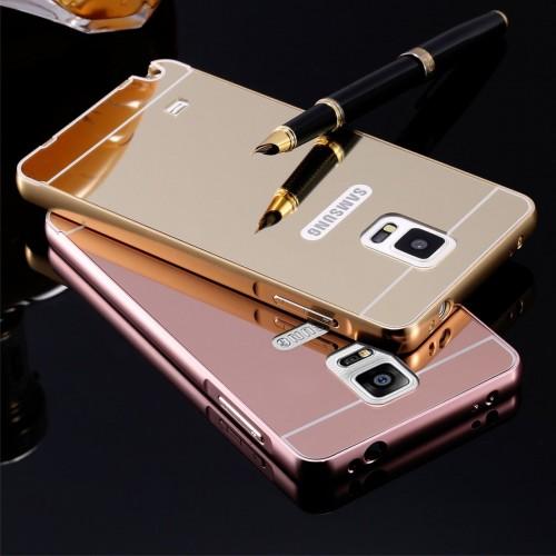 Cover custodia case telaio alluminio + acrilico per samsung galaxy Note 2 3 4 5