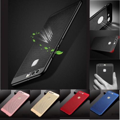Cover custodia case traspirante per Huawei P8 P9 P10 P20 lite Pro Plus mini P30