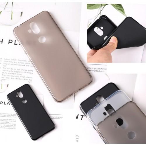Cover custodia in silicone antiurto antiscivolo per Asus Zenfone 5 lite ZC600KL