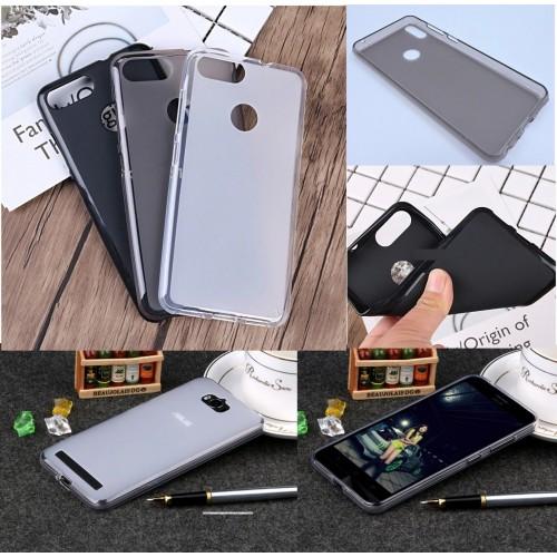 Cover custodia silicone antiscivolo antiurto per Asus Zenfone Max M1 Plus Pro
