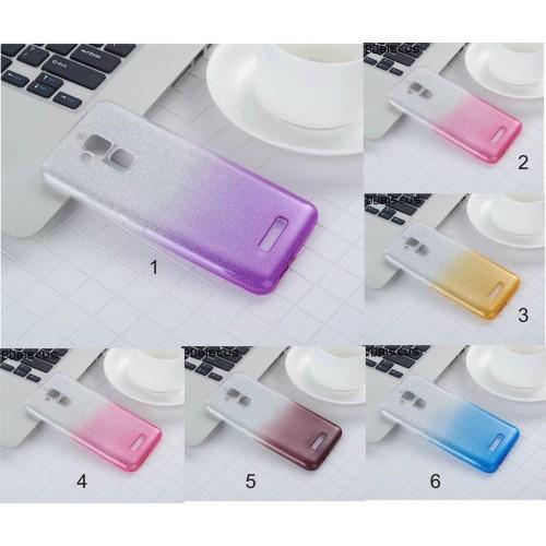 Cover custodia silicone glitter per Asus Zenfone  3 4 Max Plus ZC520KL ZC554KL