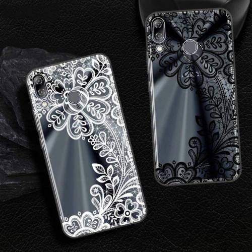 Cover custodia silicone minnie fiori hennè merletto per Asus Zenfone 5 5Z lite