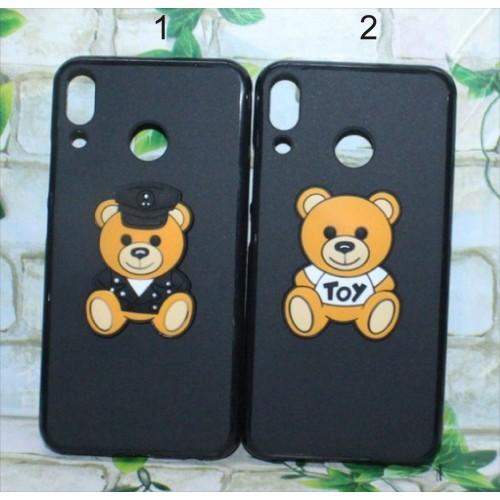 Cover custodia silicone orsetto teddy 3D per Asus Zenfone 5 5Z ZS620KL ZE620KL