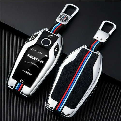 Cover telecomando & portachiavi smart key per BMW 5 7 G30 G31 G32 i8 X3 X4 X5