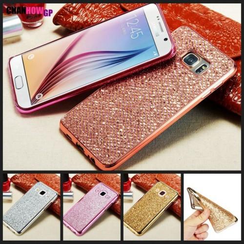 Custodia Cover Case tpu luccicosa per Samsung Galaxy J3 J5 J7 A3 A5 A7 2016 2017