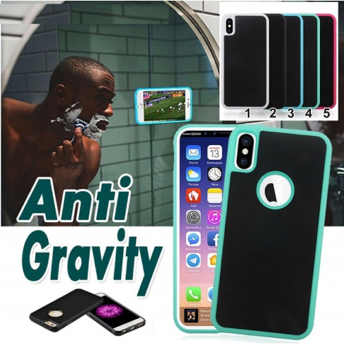 Custodia Cover anti gravità per Samsung S5 S6 S7 S8 S9 Plus & Iphone 5 6 7 8 X