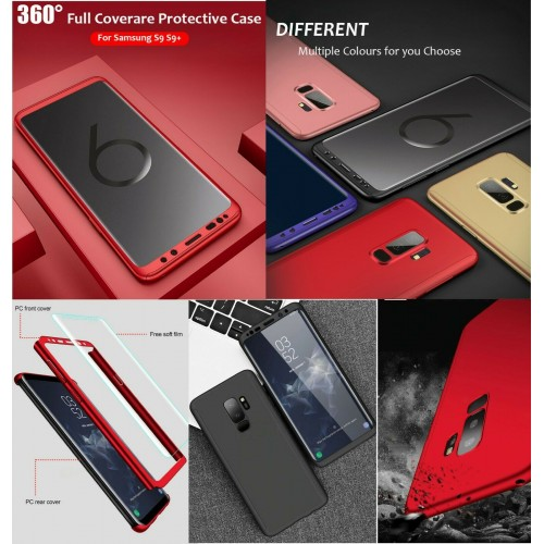 Custodia Cover antiurto protezione a 360°per Samsung S6 S7 S8 S9 S10 S10E Plus