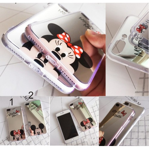 MICKEY MOUSE MINNIE SPECCHIO IPHONE 5