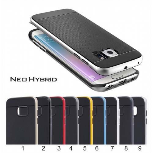 Custodia Cover case hybrid per Samsung Galaxy S6 S7 S8 Edge Plus note 4 5 7 8