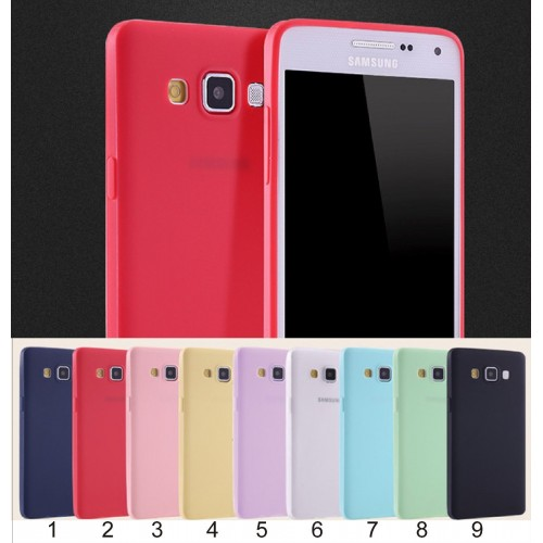 Custodia Cover case in silicone para bordi per Samsung Galaxy S4 S5 S6 S7 Edge