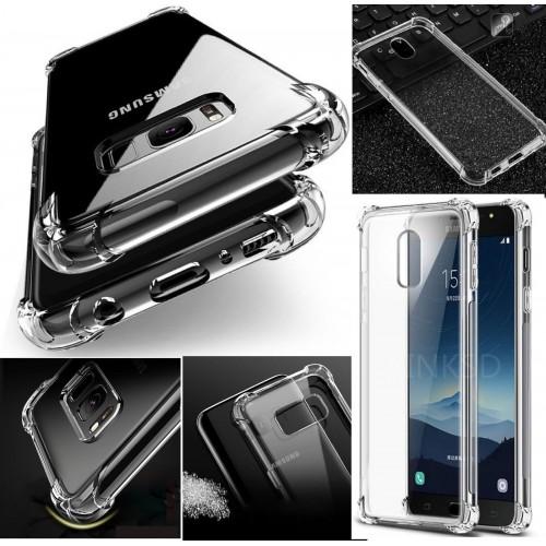 Custodia Cover case in silicone paraurti per Samsung Galaxy J2 pro J4 J6 J8 2018