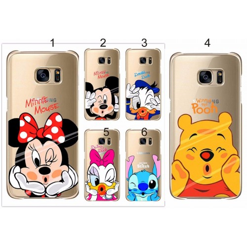 Custodia Cover case minnie mickey stitch per Samsung S4 S5 S6 S7 edge note 4 5