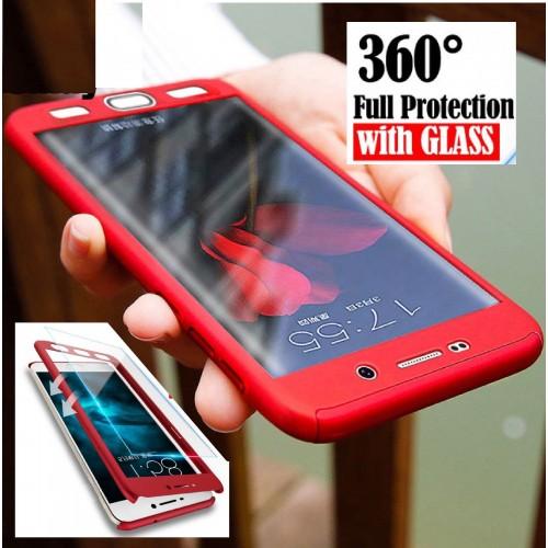 Custodia Cover case protezione 360°+ vetro per Samsung Galaxy A3 A5 A7 2016 2017