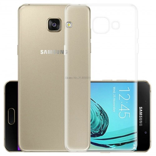 Custodia Cover case silicon morbida antiscivolo per Samsung Galaxy A3 A5 A7 2017