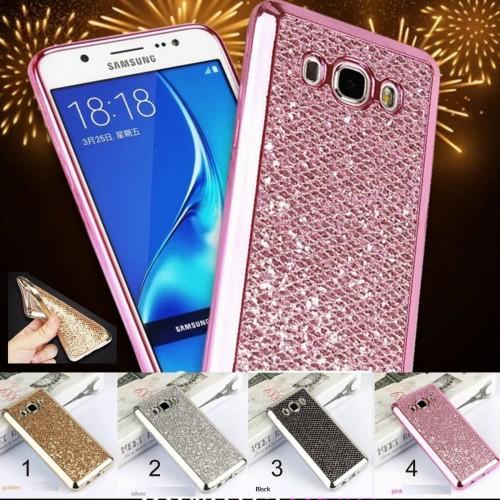 Custodia Cover case silicone bling luccicosa per Samsung Galaxy J1 J3 J5 J7 2016