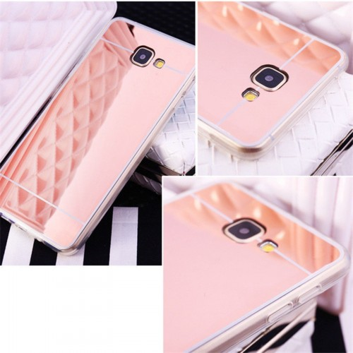Custodia Cover case silicone effetto specchio per Samsung Galaxy A3 A310 2016