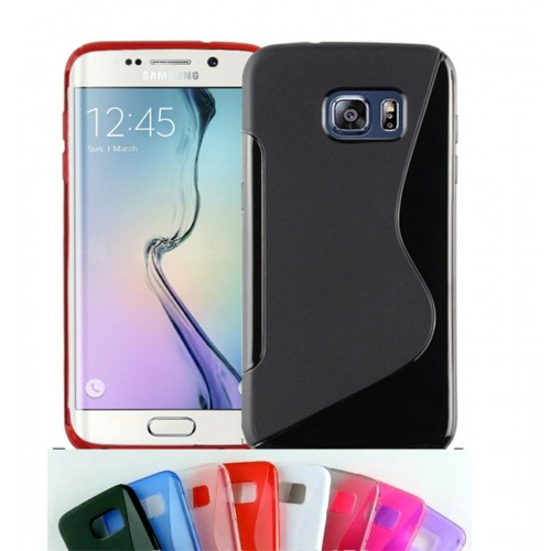 Custodia Cover case silicone tpu 0.6 mm per Samsung Galaxy S7 Edge G935 + film