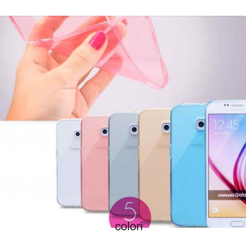 Custodia Cover case silicone tpu molle 0.4 mm per Samsung Galaxy S7 G930 G9300