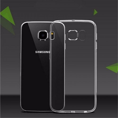 Custodia Cover case silicone tpu morbida antiscivolo 0.5mm per Samsung Galaxy S6