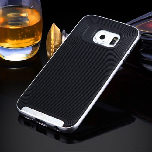 Custodia Cover case sportiva in plastica/Tpu per Samsung Galaxy S7 & Edge + film
