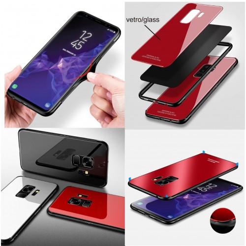Custodia Cover con strass per Samsung Galaxy A6 A8 Plus J2 pro J3 J4 J6 J8 2018
