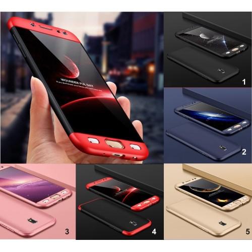 Custodia Cover coque protezione a 360° luxury per Samsung Galaxy J3 J5 J7 2017