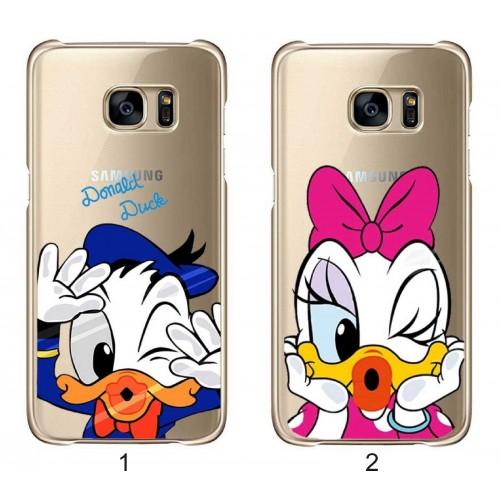 Custodia Cover duck per Samsung S3 S4 S5 S6 S7 S8 S9 note A3 A5 A7 A8 J3 J5 J7