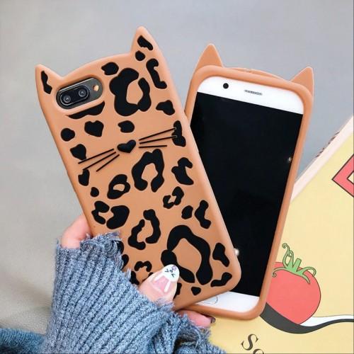 Custodia Cover leopardo 3D per Samsung Galaxy S7 S8 J2 J3 J4 J5 J6 J7 J8 prime