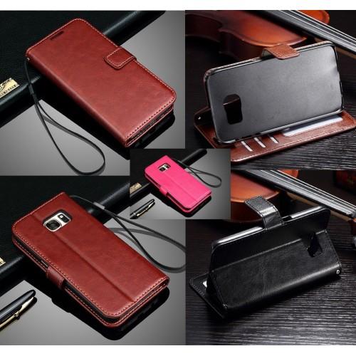 Custodia Cover magnetica slot card per Samsung Galaxy J3 J5 J7 J2 pro J4 J6 J8