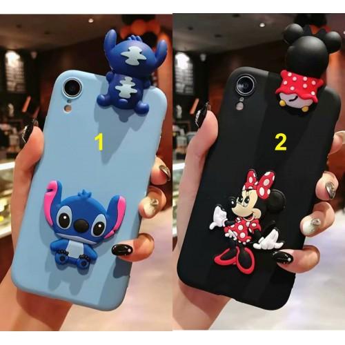 Custodia Cover mickey stitch minnie per Samsung Galaxy A3 A5 A6 A7 A8 2018 '17