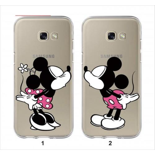 Custodia Cover minnie mickey Samsung Galaxy A3 A5 A6 A7 A8 A9 2018 '17 '16 '15