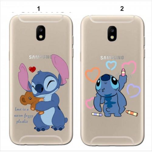 Custodia Cover minnie mickey Samsung Galaxy A3 A5 A6 A7 A8 A9 star 2018 '17 16