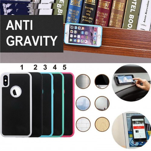 Custodia Cover nano gravità per Samsung S5 S6 S7 S8 S9 Plus  Iphone 5 6 7 8 X