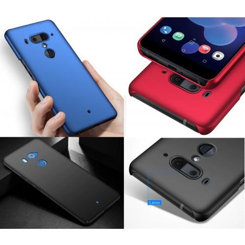 Custodia Cover plastica antiurto flex per HTC U11 eyes U12 life 10 12 Desire X2