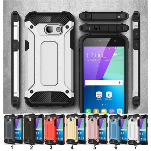 Custodia Cover rigida antiurto per Samsung Galaxy S4 S5 S6 S7 edge S8 S9 Plus