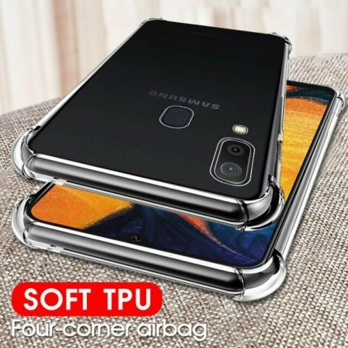 Custodia Cover silicone antiurto per Samsung Galaxy A10 A20 A30 A40 A50 A60 A70