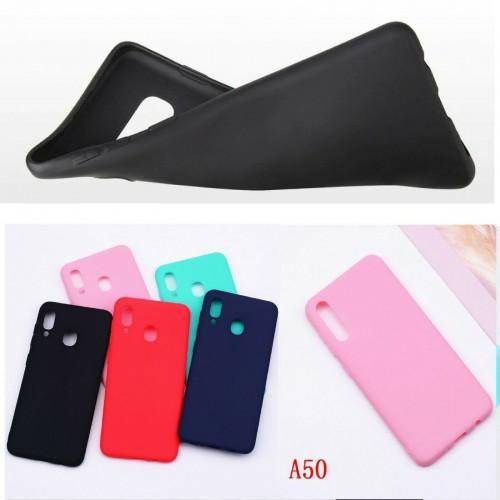 Custodia Cover silicone antiurto per Samsung Galaxy A10 A20e A30 A40 A50 A60 A70