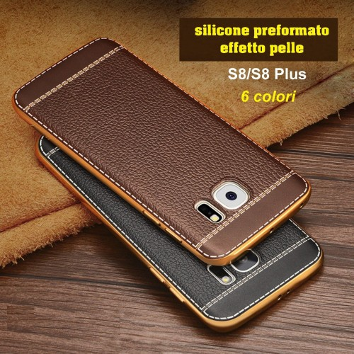 custodia in pelle samsung s8