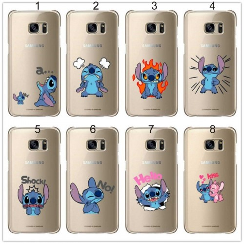 Custodia Cover stitch cartoni 3D per Samsung Galaxy A3 A5 A7 J1 J5 J7 2016 2017