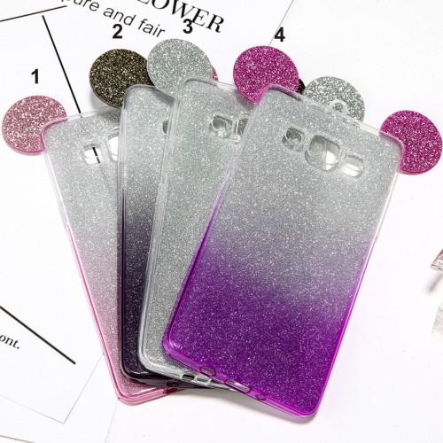 Custodia Cover topolino per Samsung Galaxy S6 S7 S8 S9 note8 A3 A5 A7 J3 J5 J7