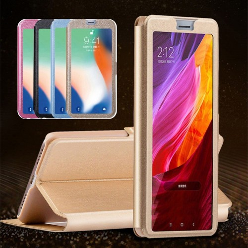 Custodia Flip Cover magnetic cuoio per HTC U11 eyes U12 life Desire 10 12 play