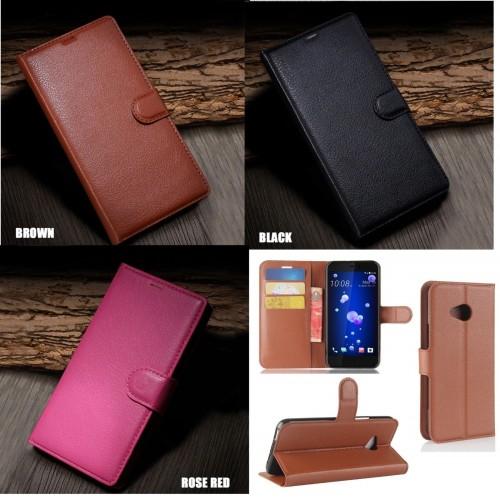 Custodia Flip Cover pelle per HTC U11 eyes U12 life play Desire 10 pro M7 M8 M9